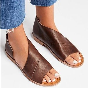 Free People Mont Blanc Sandal (cocoa)